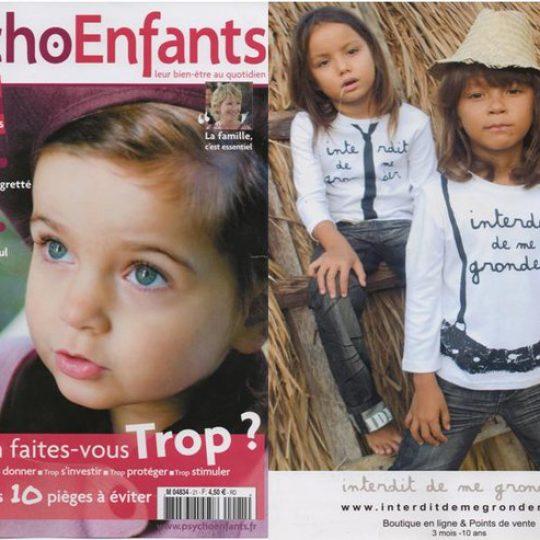 Photo Shooting Psycho Enfants - Brand interdit de me gronder